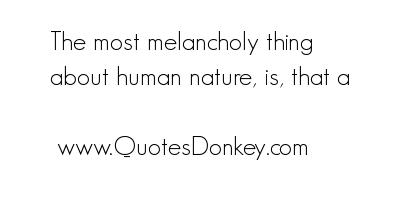 Melancholy quote #1