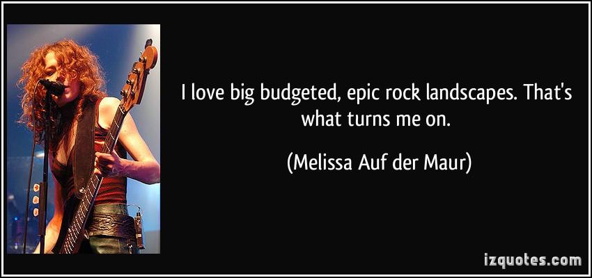 Melissa Auf der Maur's quote #4