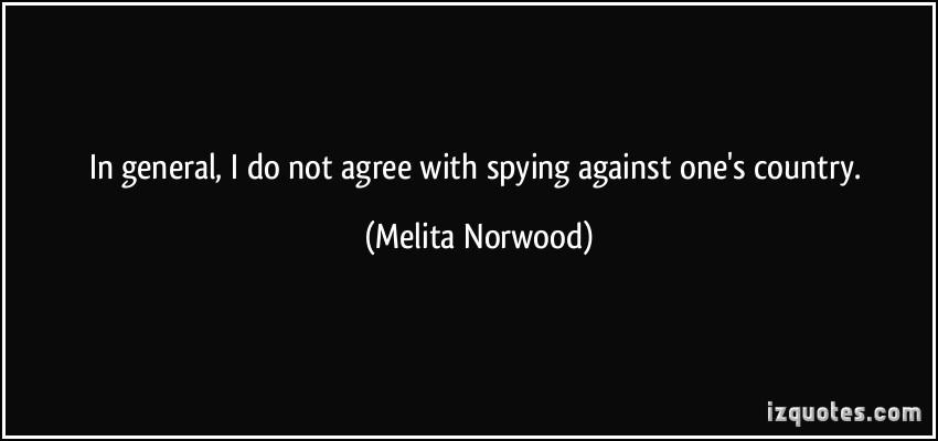 Melita Norwood's quote #3