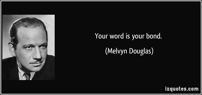 Melvyn Douglas's quote #1