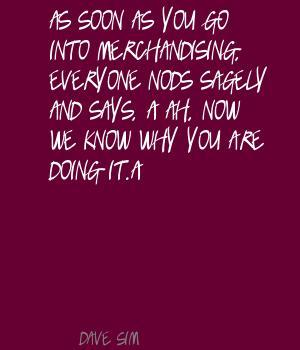Merchandising quote #2