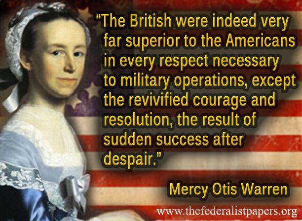 Mercy Otis Warren's quote