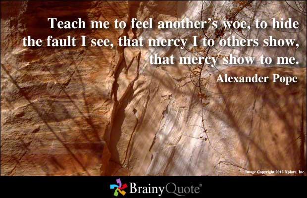 Mercy quote #1