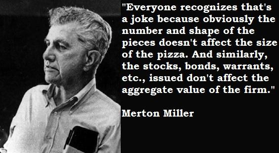 Merton Miller's quote #1