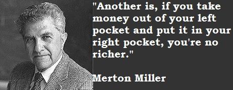 Merton Miller's quote #4