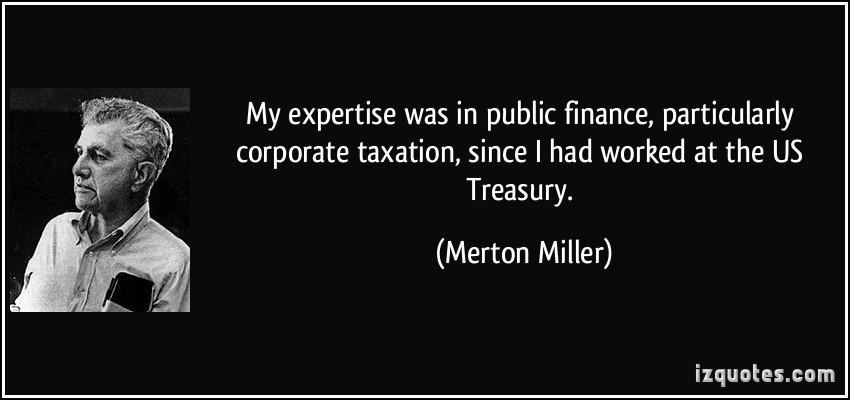 Merton Miller's quote #3