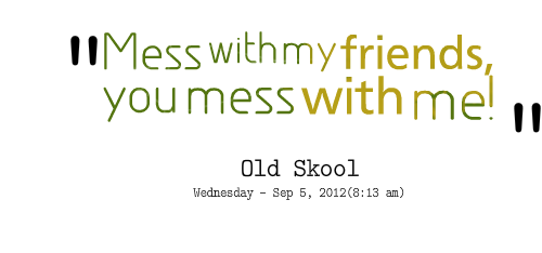 Mess quote #6