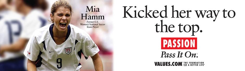 Mia Hamm's quote #3