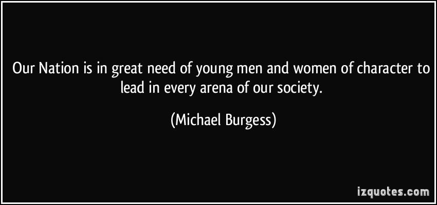 Michael Burgess's quote #4