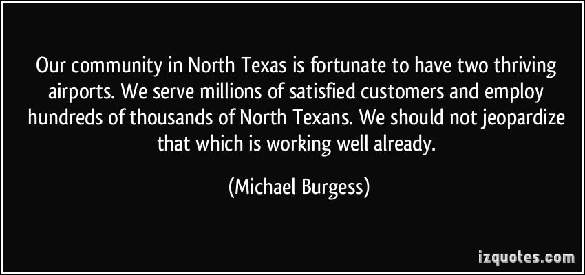 Michael Burgess's quote #5