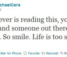 Michael Cera's quote