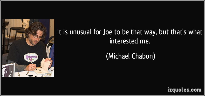 Michael Chabon's quote #2