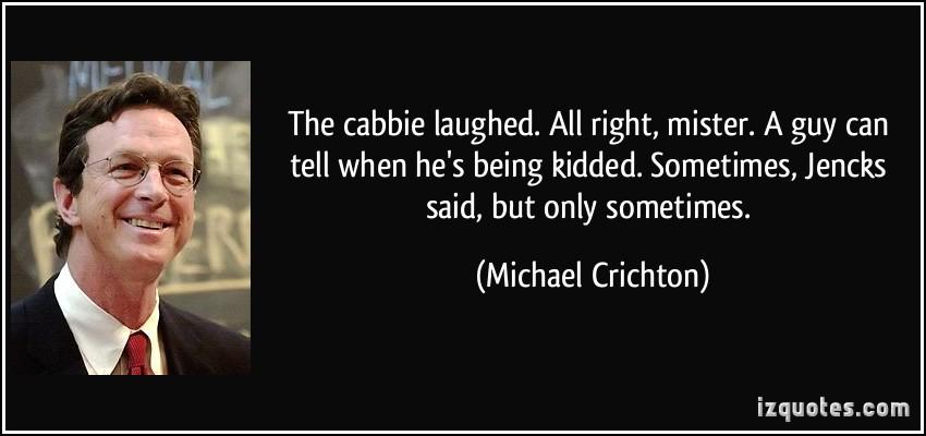 Michael Crichton's quote #2