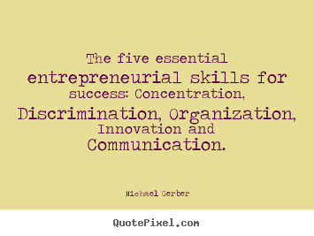 Michael Gerber's quote #1