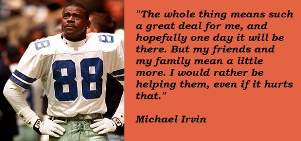 Michael Irvin's quote #8