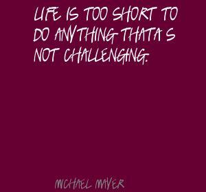 Michael Mayer's quote