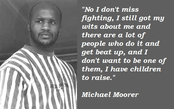 Michael Moorer's quote #2