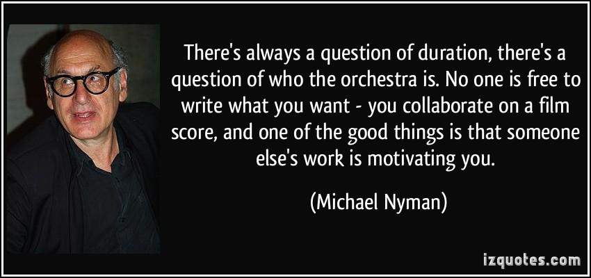 Michael Nyman's quote #1