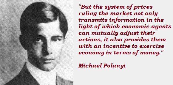 Michael Polanyi's quote #1