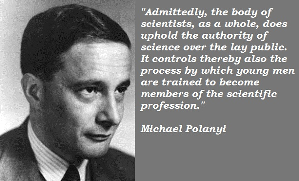 Michael Polanyi's quote #2