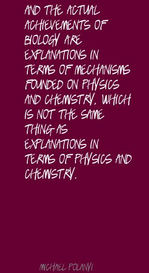 Michael Polanyi's quote #8