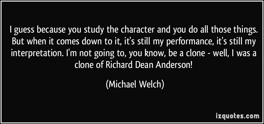 Michael Welch's quote #6