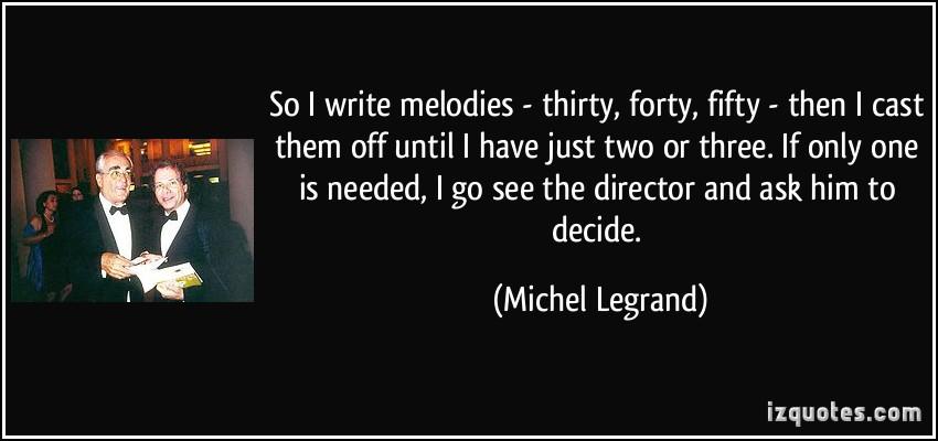 Michel Legrand's quote #2