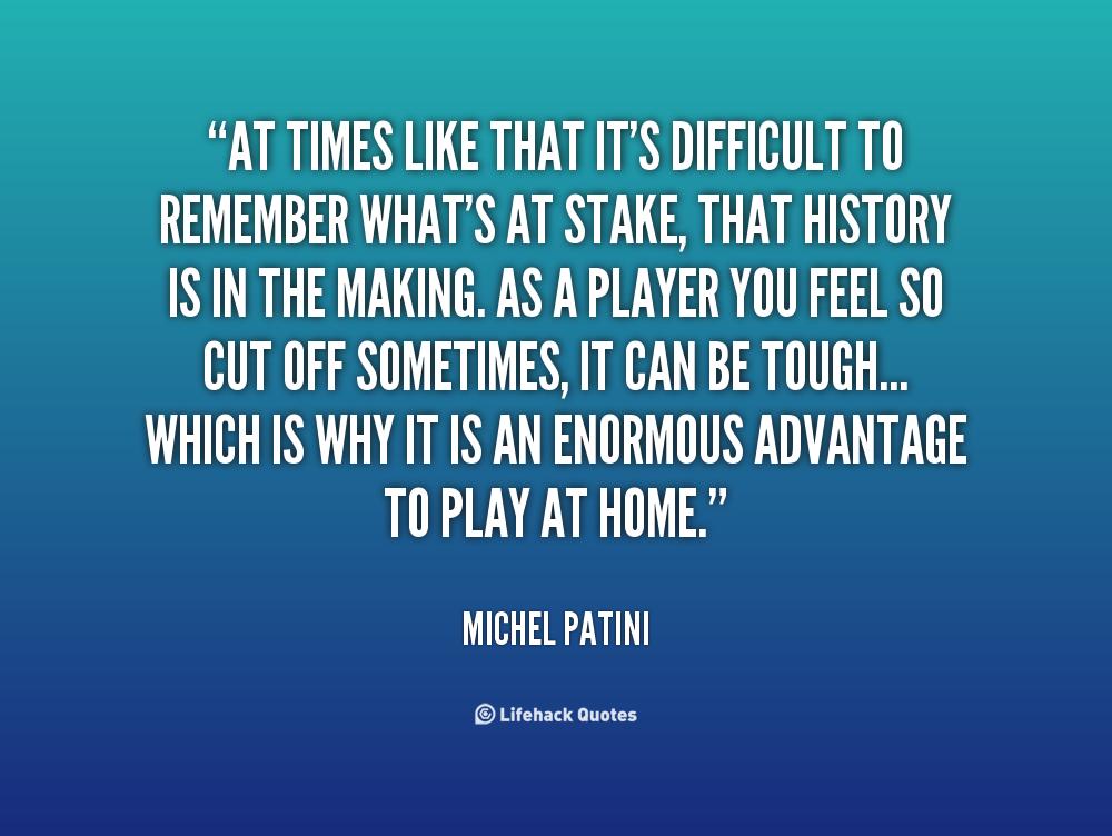 Michel Patini's quote #2