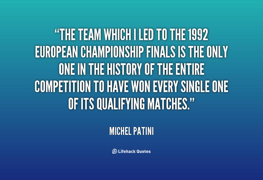Michel Patini's quote #5