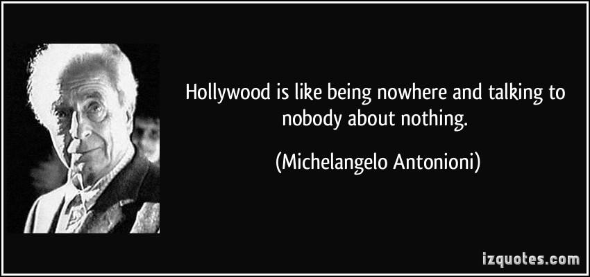 Michelangelo Antonioni's quote #1