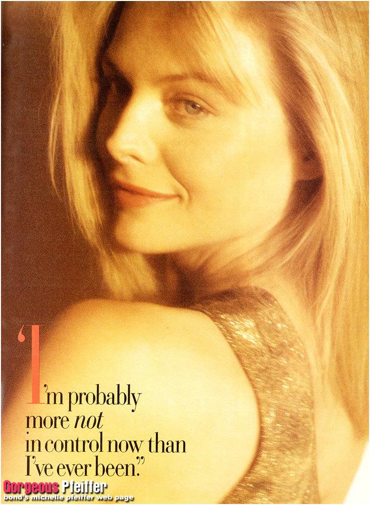 Michelle Pfeiffer's quote #2