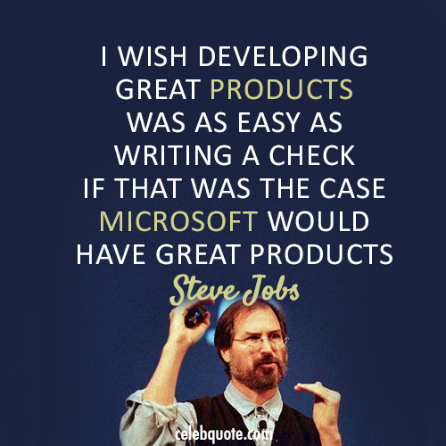 Microsoft quote #1