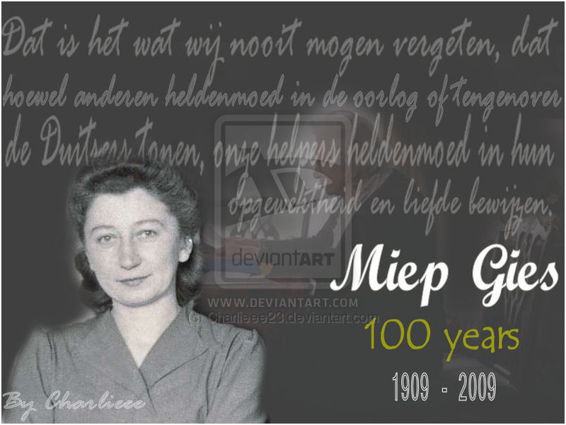 Miep Gies's quote #2