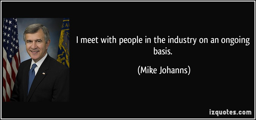 Mike Johanns's quote #7