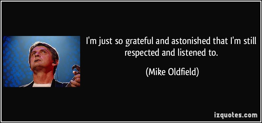 Mike Oldfield's quote #3