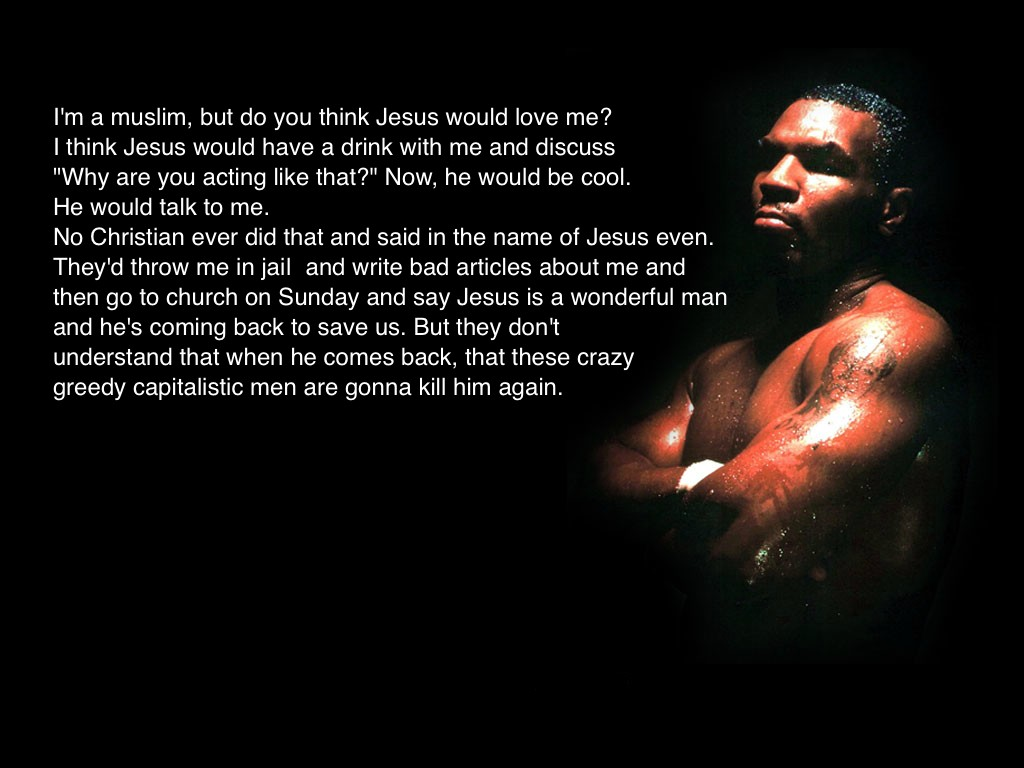 Mike Tyson quote #1
