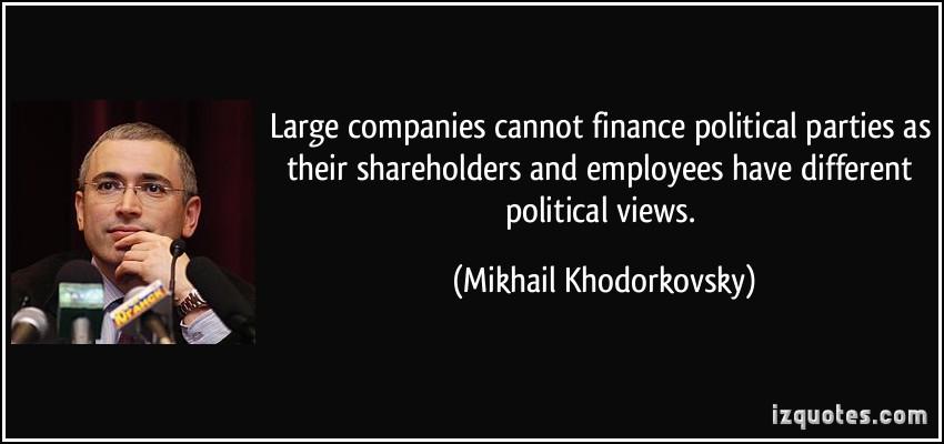 Mikhail Khodorkovsky's quote #8