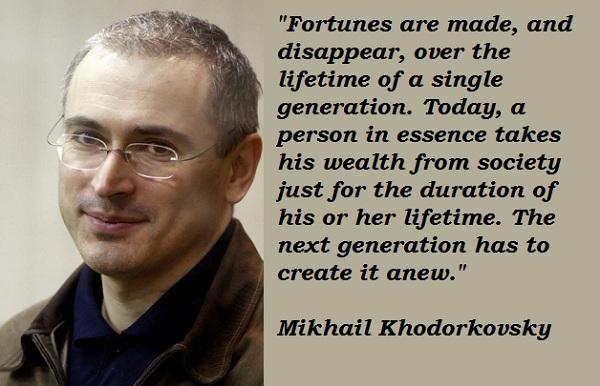 Mikhail Khodorkovsky's quote #3