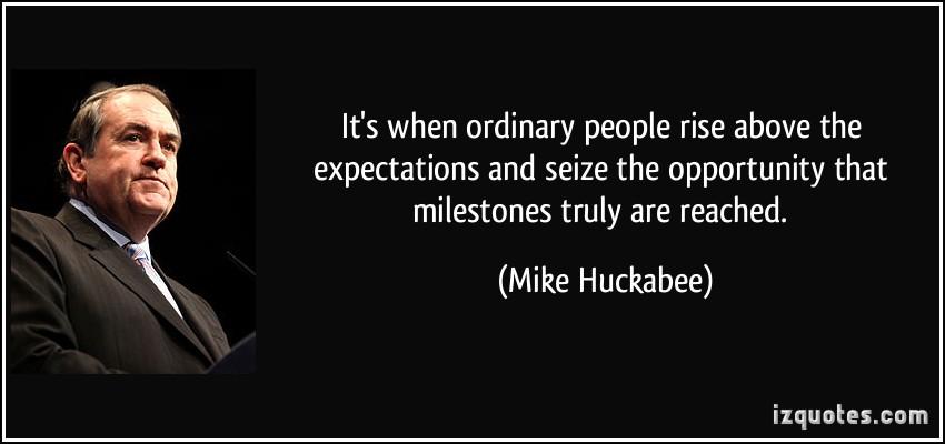 Milestones quote #1