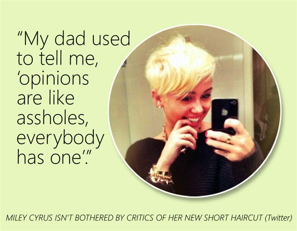 Miley Cyrus's quote #4