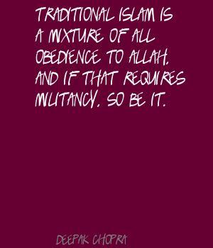 Militancy quote #1