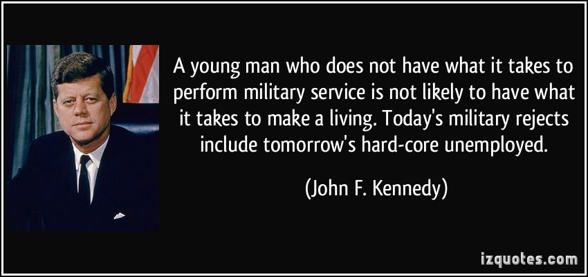 Military Service quote #1