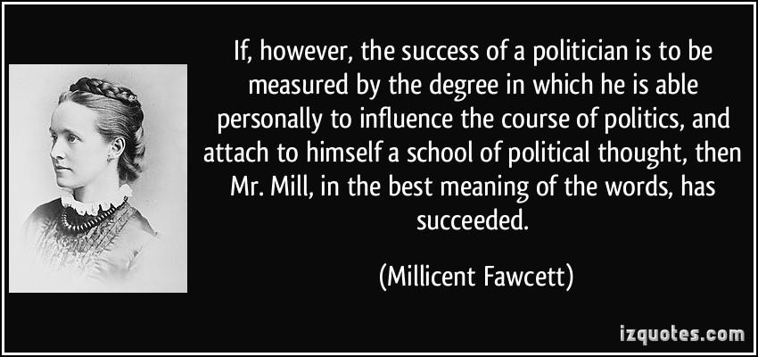 Millicent Fawcett's quote #4
