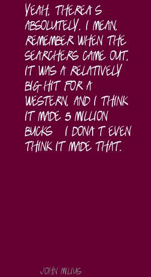 Million Bucks quote #2