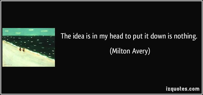 Milton Avery's quote #2
