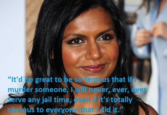 Mindy Kaling's quote #1