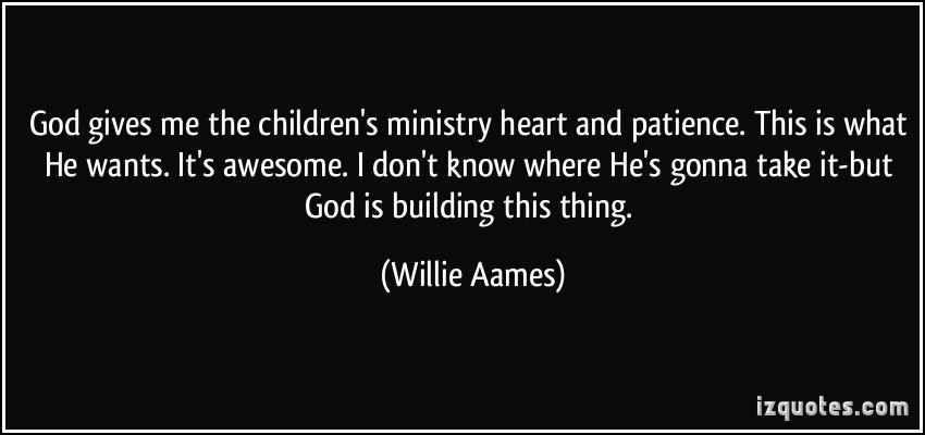 Ministry quote #2