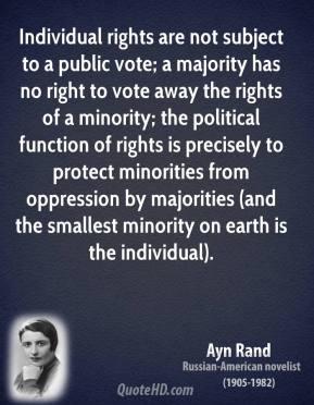 Minorities quote #1