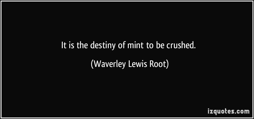 Mint quote #1