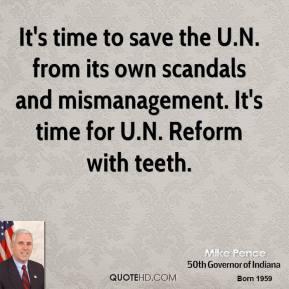 Mismanagement quote #2